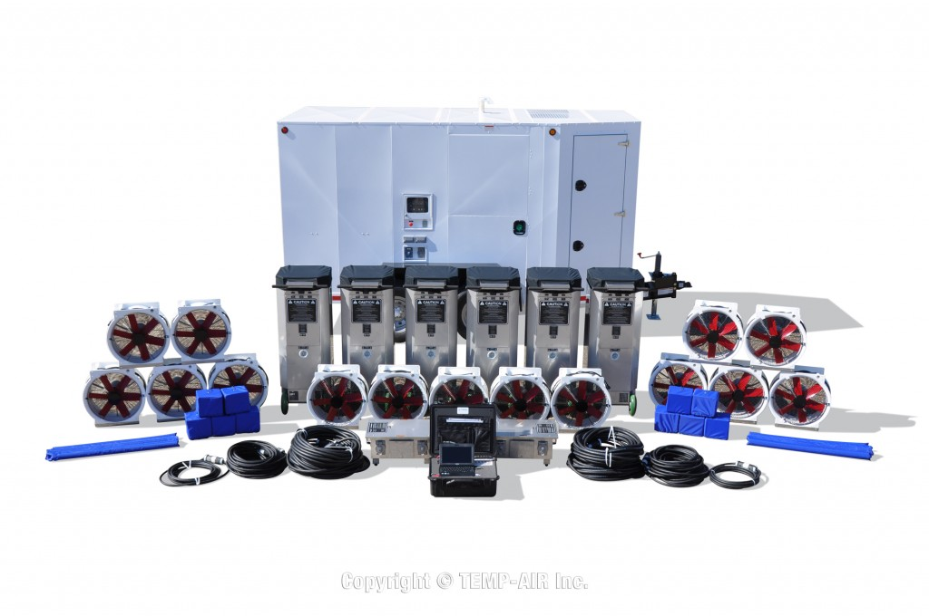 Bed Bug Treatment EBB-60KW Trailer Package